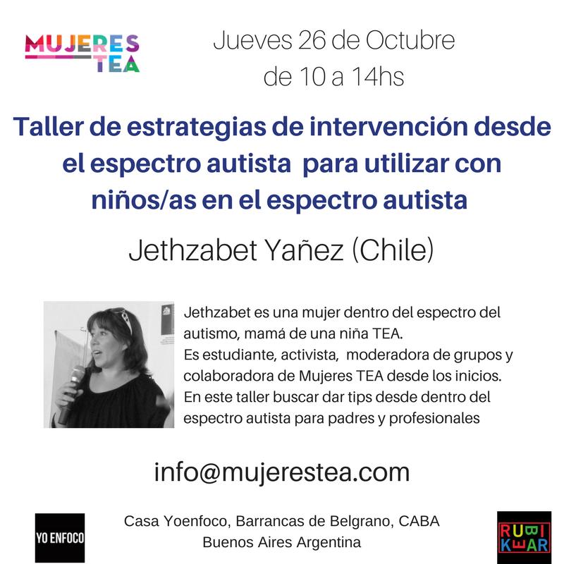 Taller Intervenciones desde el espectro autista para a con niñosas en el espectro autista, (3)